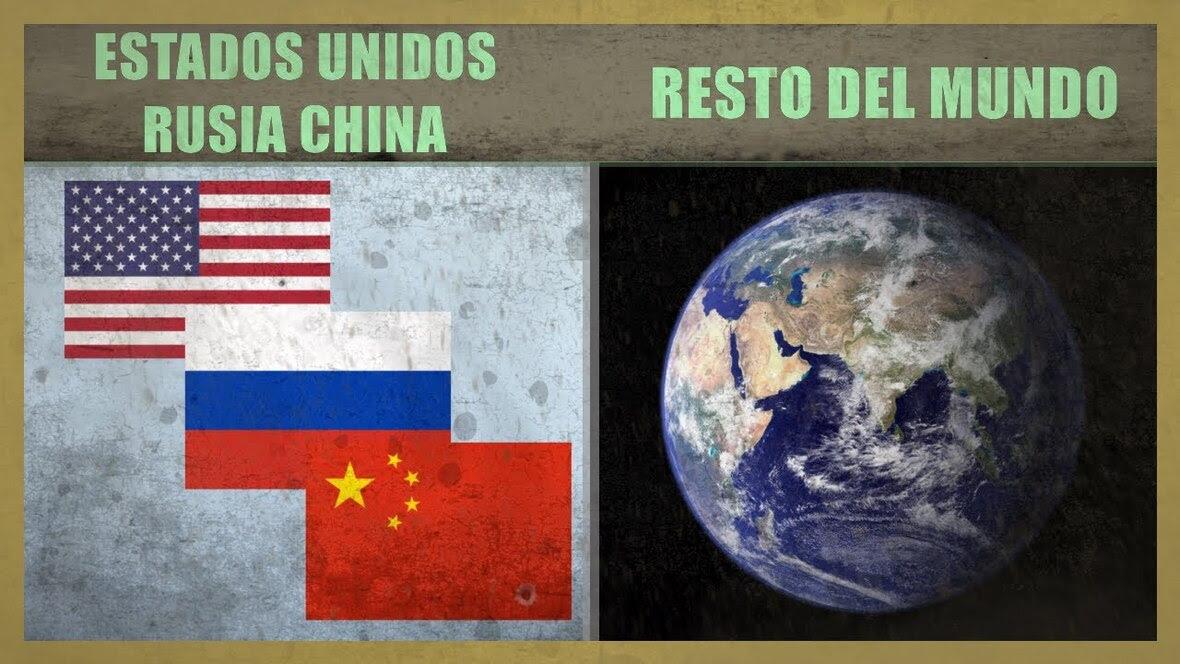 China Rusia EEUU