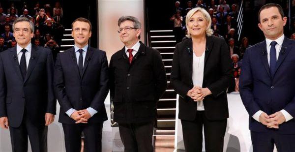 Γαλλία: Ένα ιστορικό debate – Πως τοποθετήθηκαν οι 5 υποψήφιοι