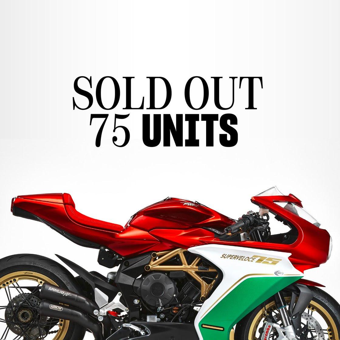 Superveloce 75 Anniversario sold out-1