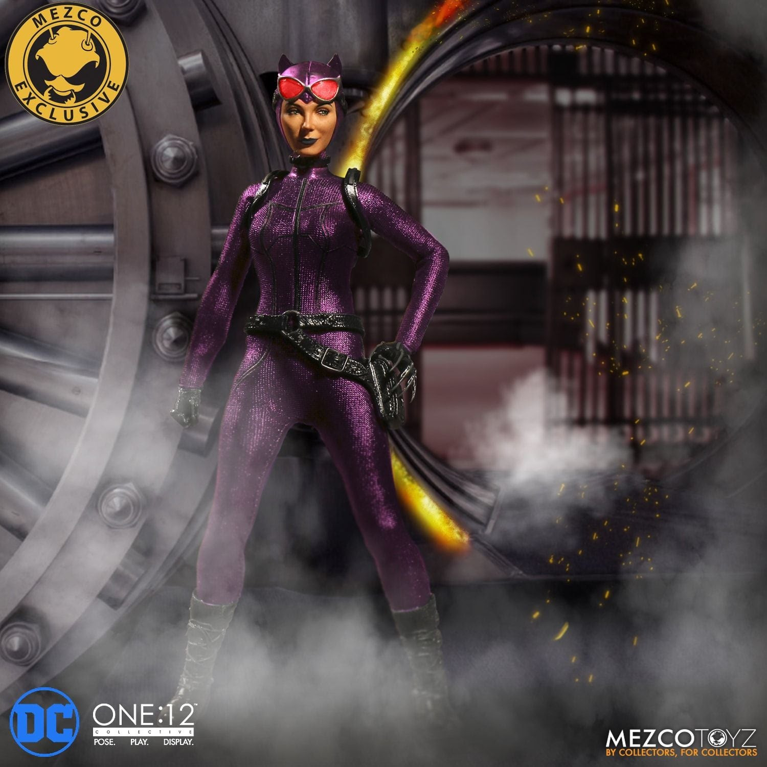 Image of One:12 Collective - Catwoman - Purple Suit Variant