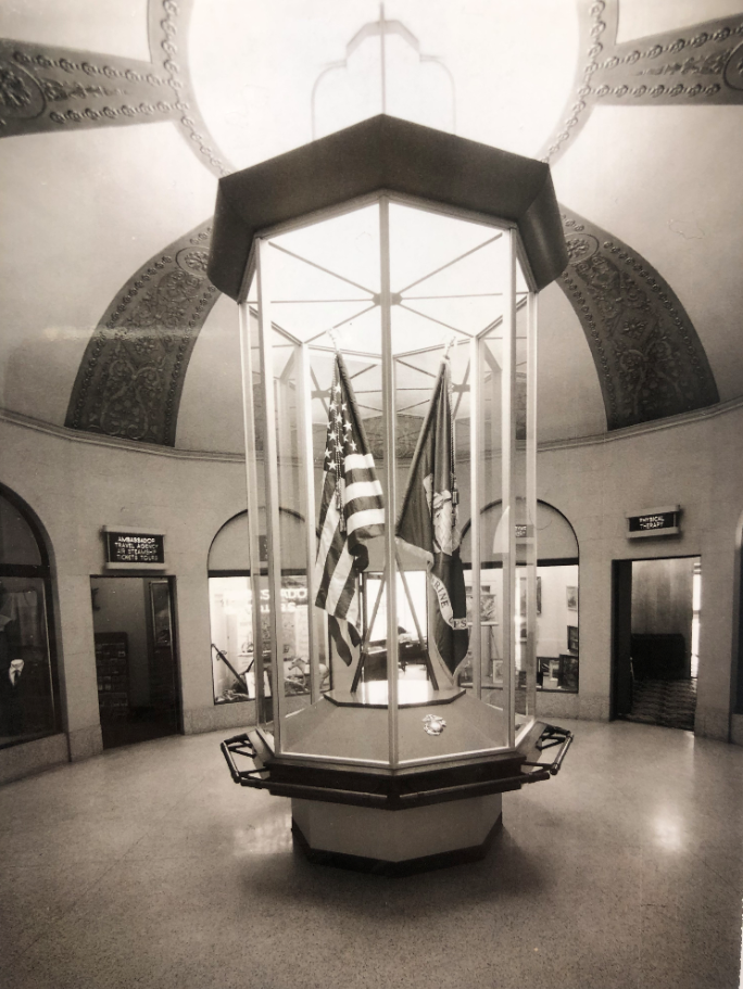 Lobby in the 1970's