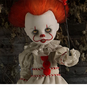 LIVING DEAD DOLLS PRESENTS: IT (2017) PENNYWISE