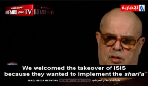 Muslim cleric: 'We welcomed the takeover of ISIS because they wanted to implement the Sharia'