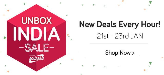 Unbox India Sale