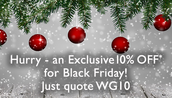 10% Off for Black Friday