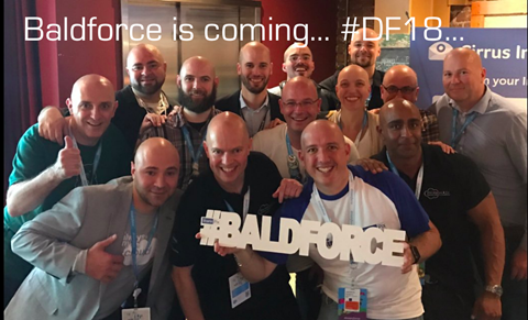 Baldforce for charity!