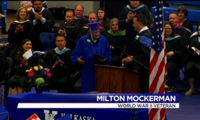89-year-old WWII Veteran Accomplishes Lifelong Goal and Graduates