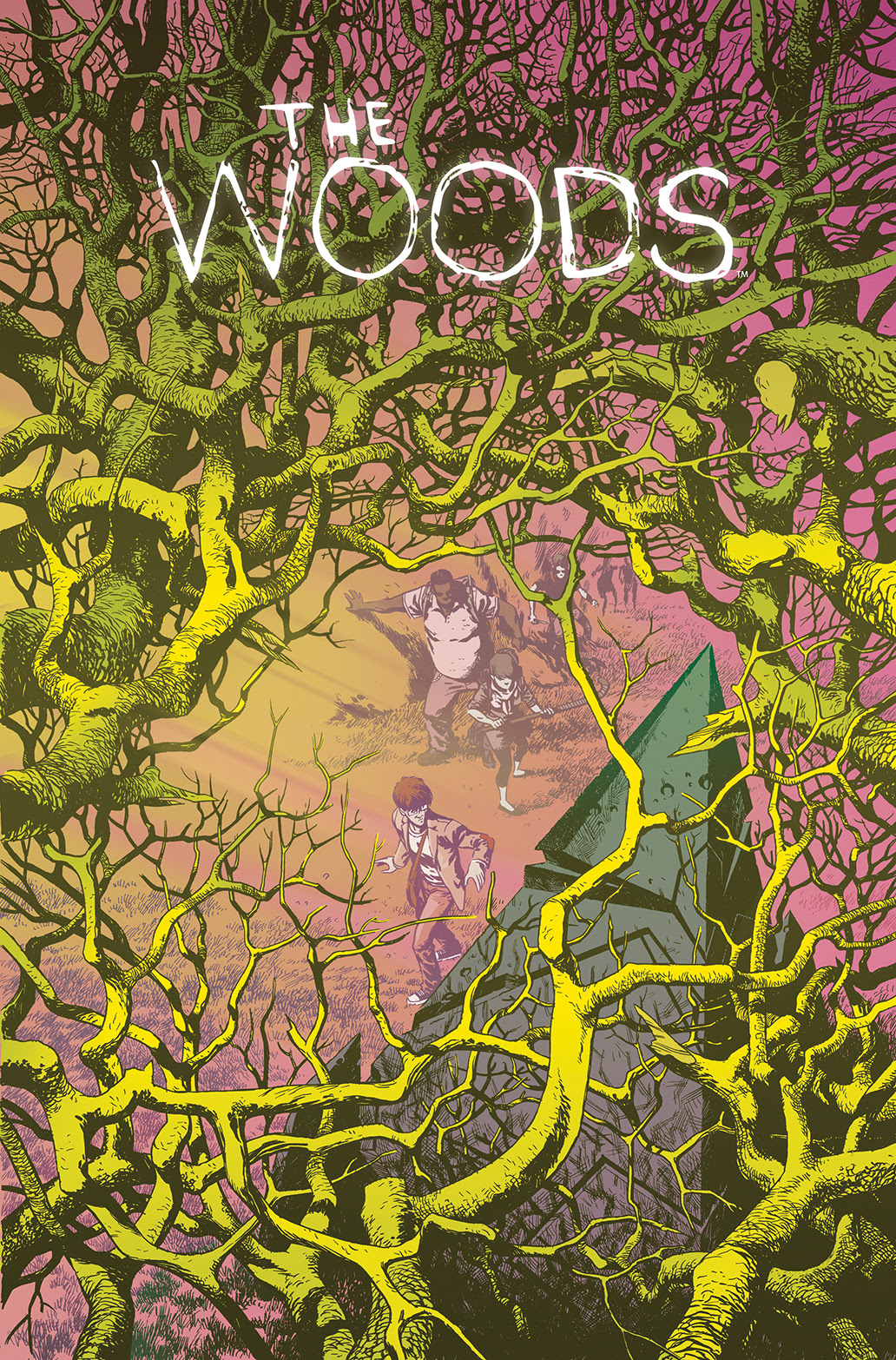 THE WOODS #1 Cover A by Ramón Pérez