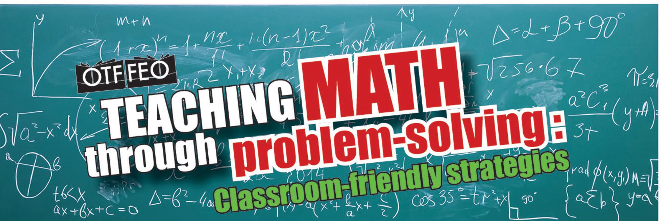 OTF Teaching Math Through Problem Solving