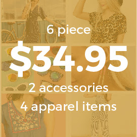 6 Piece Grab Bag- $34.95 & FREE SHIPPING