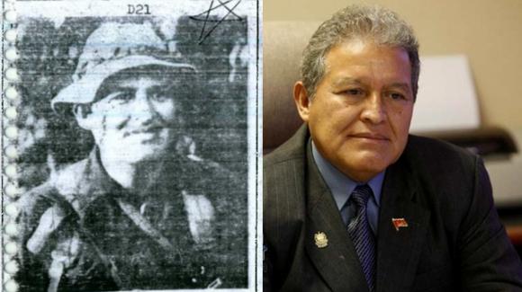 El Presidente Salvador Sánchez Cerén: en El Libro Amarillo, y en la actualidad.