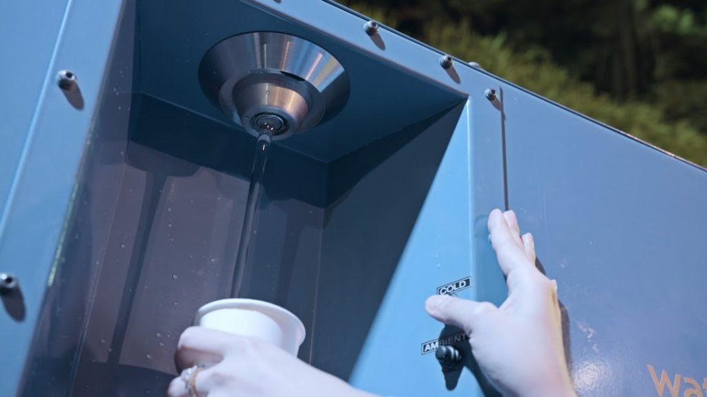 A Watergen water generator. Courtesy