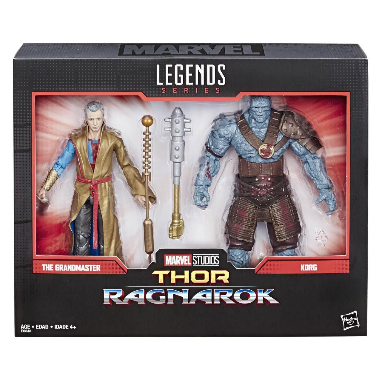 Image of Marvel Comics 80th Anniversary Marvel Legends Korg and Grandmaster 2-Pack
