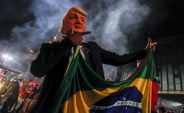 Para especialistas, acuerdo pone la soberania de Brasil en riesgo - Créditos: Miguel Schincariol/AFP