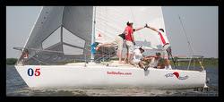 J/24 sailing Texas Circuit