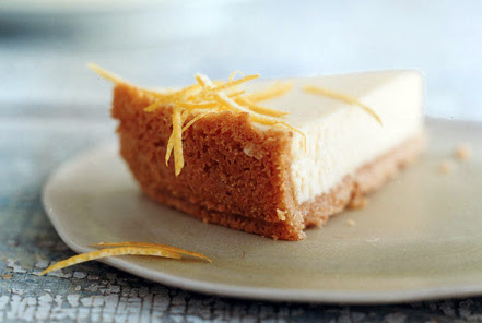 Passover Lemon Cheesecake recipe