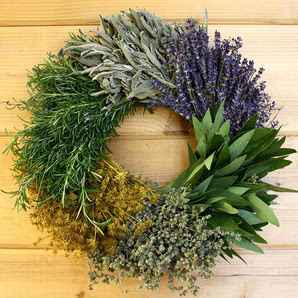 Creekside Farms Kitchen Herb Wreath (2)