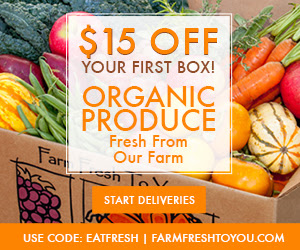 $15 off your first box at Farm...