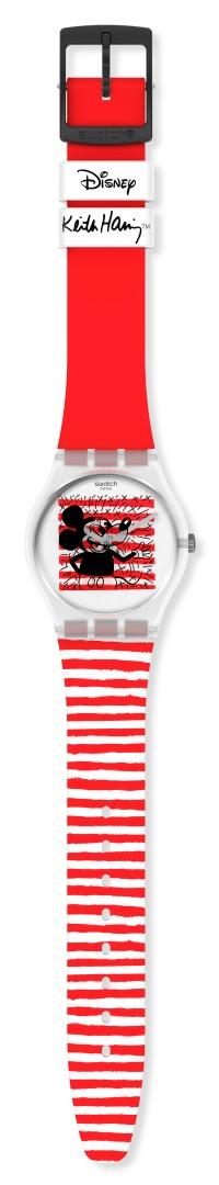 Mickey Mouse y Swatch se unen para rendirle honores al renombrado artista pop de los ochentas, Keith Haring.
