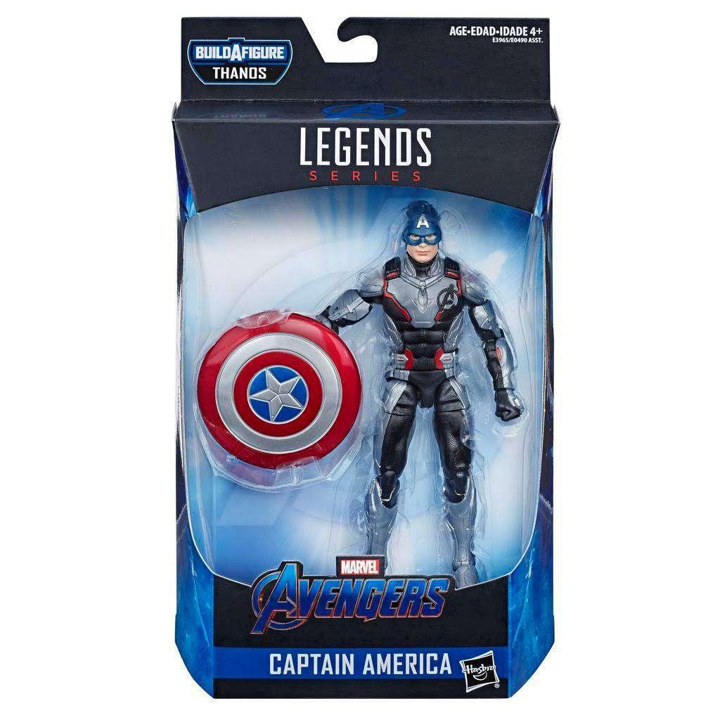 Image of Avengers: Endgame Marvel Legends (Thanos BAF) - Captain America