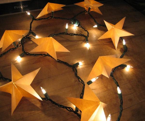 Christmas Light Stars