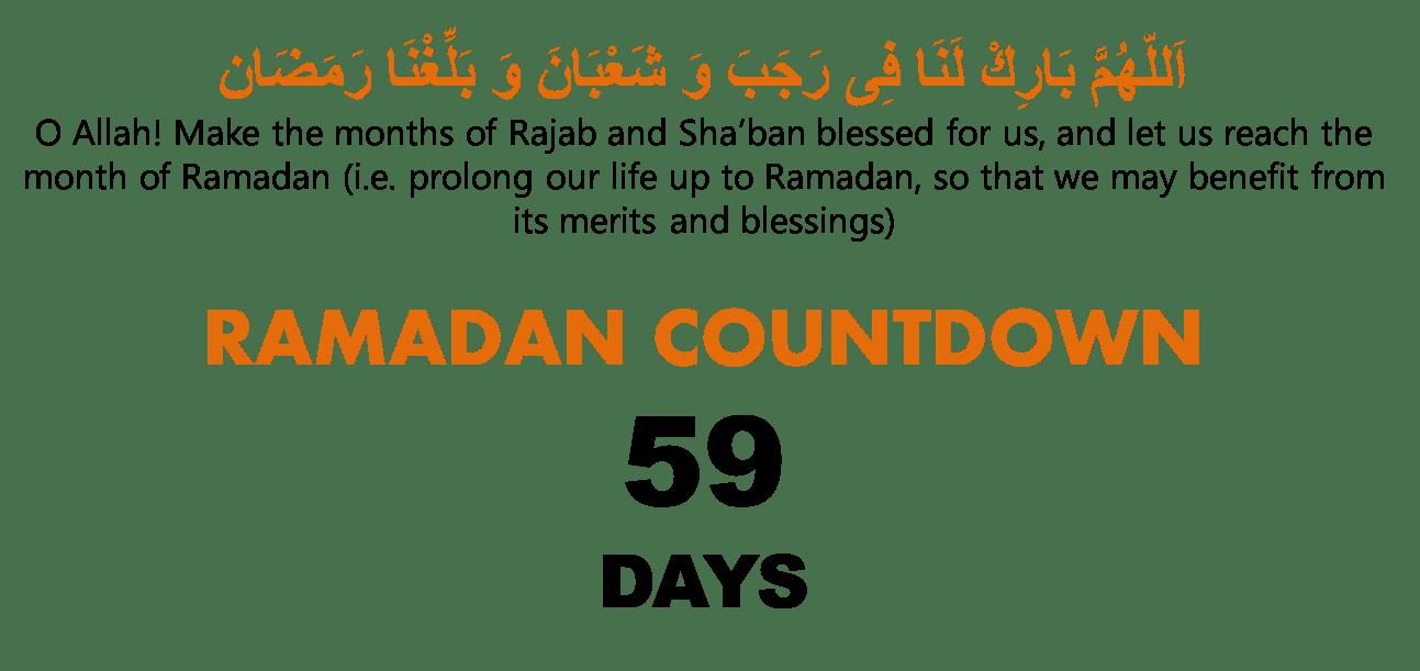 Ramadan Countdown - Productive Muslim