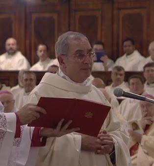 Novo bispo auxiliar de Roma: Dom Angelo De Donatis / Foto: Reprodução CTV