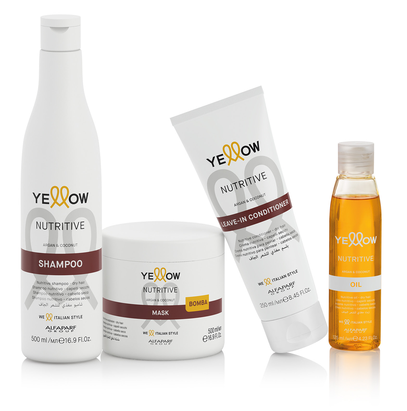 Linea Nutritive Yellow