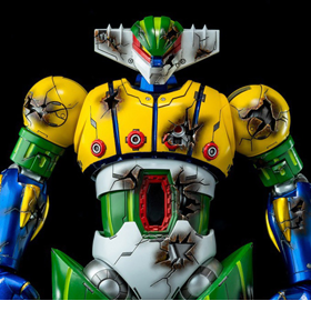 Steel Jeeg Die-cast Scene Series DFS075 Steel Jeeg (Battle Damaged)