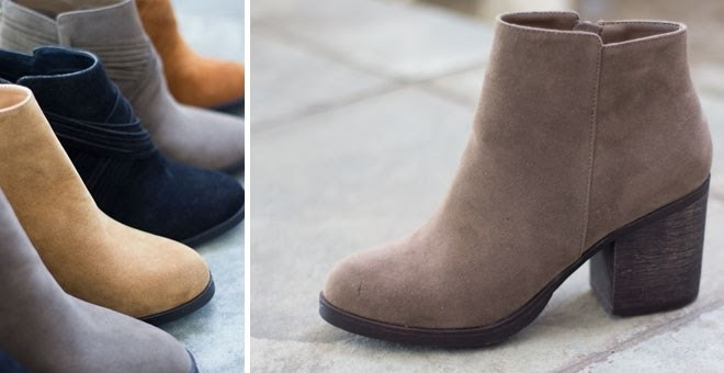 Beautiful Ankle Booties + More...