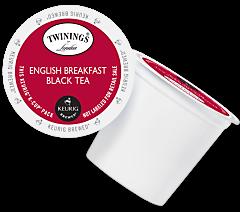 Twinings English Breakfast Keurig Kcup tea