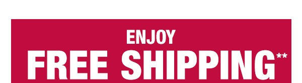Enjoy Free Shipping on all order $75+