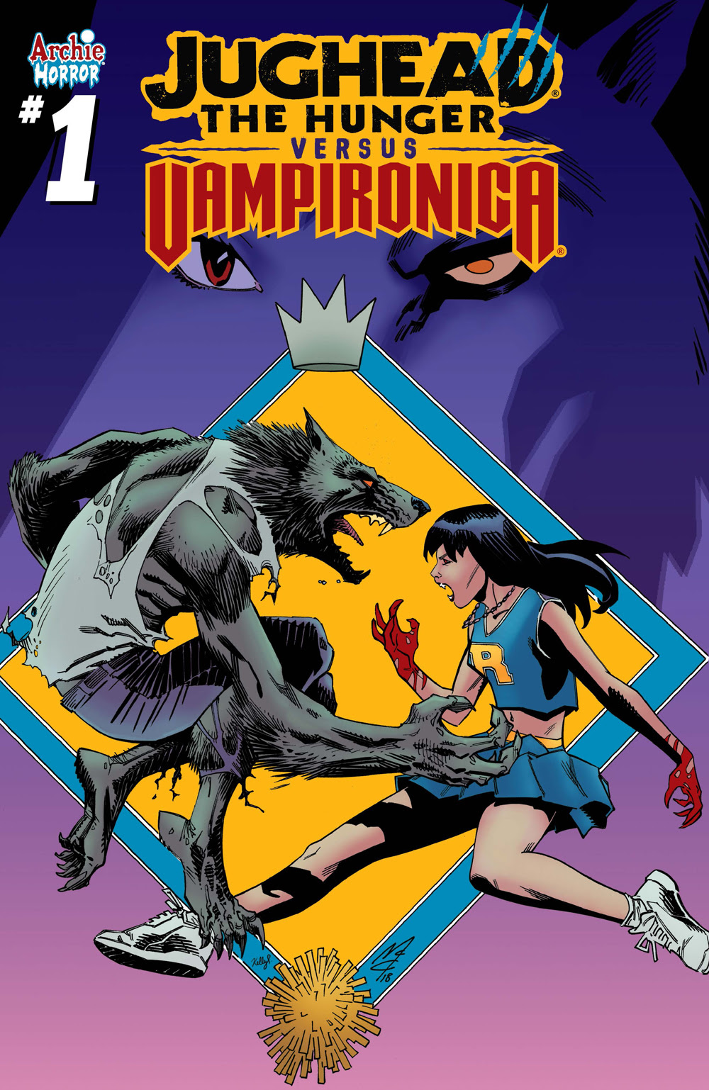 JUGHEAD: THE HUNGER VS. VAMPIRONICA #1: CVR B McCrea