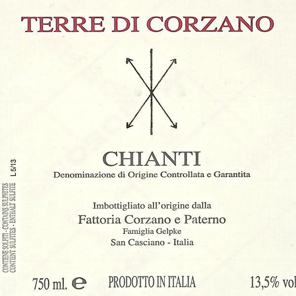 Corzano e Paterno Chianti 2018 - Nicholas Wines