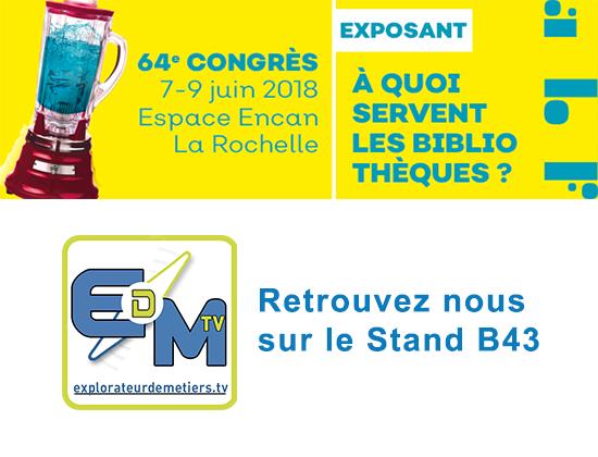 Congès 2018 - Association des Bibliothécaires de France