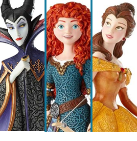 ENESCO DISNEY SHOWCASE STATUES