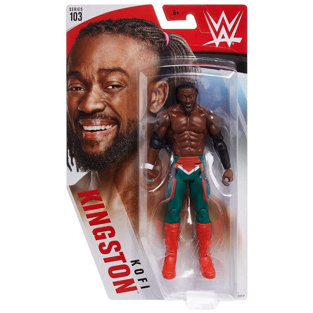 Image of WWE Basic Figure Series 103 - Kofi Kingston
