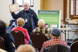 FEMA Meets with Seniors