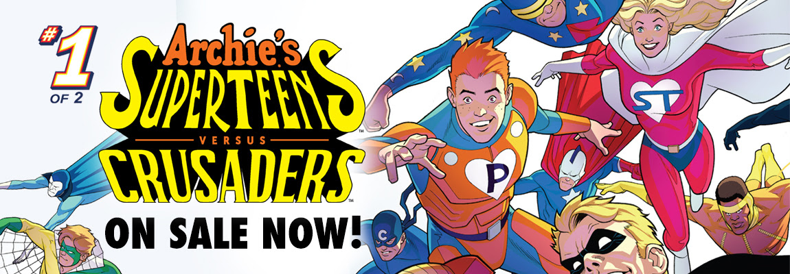 ARCHIE'S SUPERTEENS VS. CRUSADERS #1