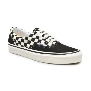 Vans Era 95 DX Anaheim Factory Sepatu Sneaker Pria - Og Black/ Og White/ Check [VN0A2RR1X60]