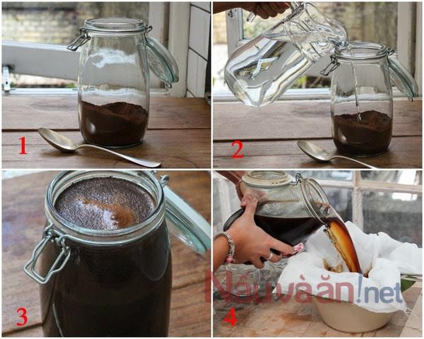 hướng dẫn pha cold brew coffee