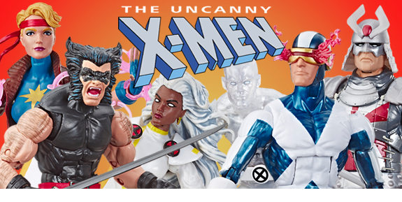 The Uncanny X-Men Marvel Legends Retro Collection Wave 3