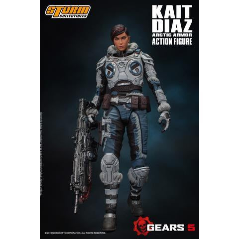 Image of Gears of War 5 Kait Diaz Artic Armor 1/12 Scale Figure - SEPTEMBER 2019