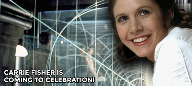 Carrie Fisher is coming to Celebration