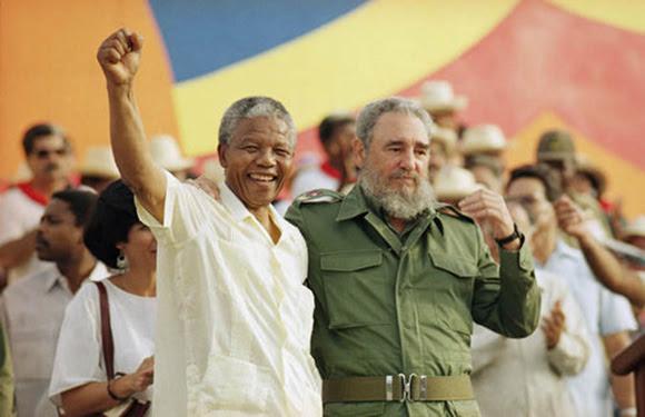 Fidel y Mandela