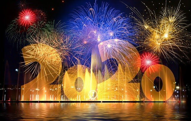 New Year's 2020 image by Image by Gerd Altmann from Pixabay