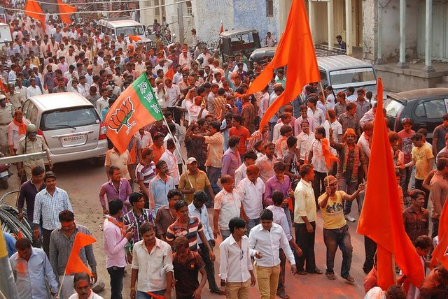 BJP revelry turns violent, communities clash in Bijapur (Courtesy: HT)