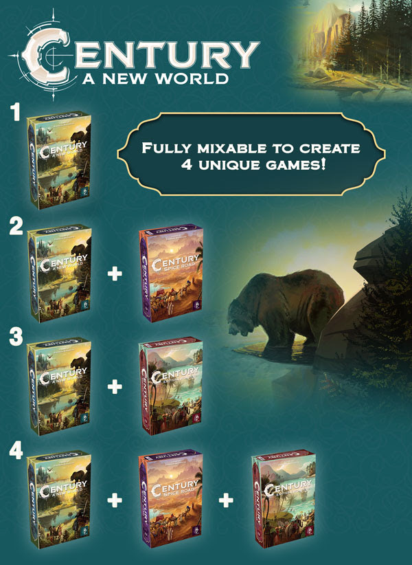 Plan B Games Annonce Century: A New World!