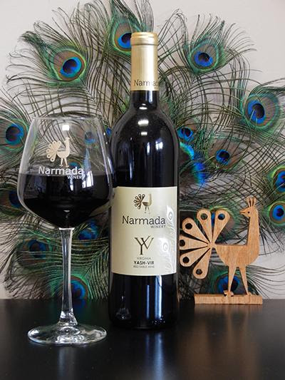 Narmada Yash-Vir Virginia wine
