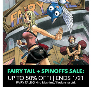 Fairy Tale + Spinoffs Sale: up to 50% off! Sale ends 1/21.